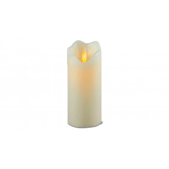 Pillar Candle ,Moving Flame Effect