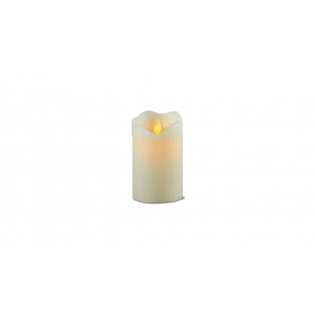 Pillar Candle (Small),Battery Candle,Ivory Tones