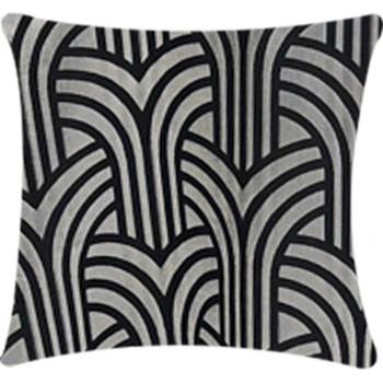 Pillow Art Deco - Silver