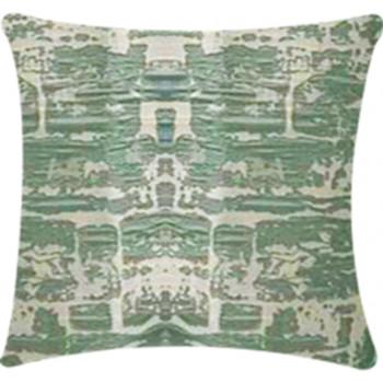 Pillow Stone Wall - Seafoam