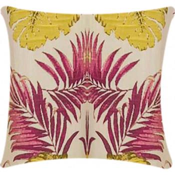 Pillow Tahiti - Fuchsia/Lime