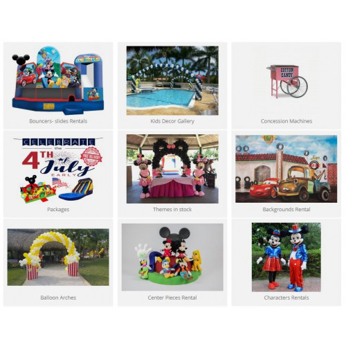 Kids Events & Decor