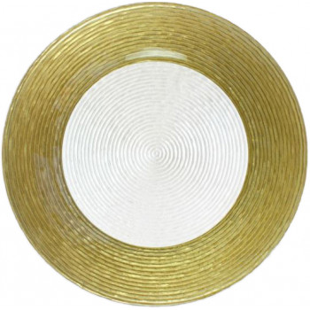 Circus Charger Plate (Gold Border)