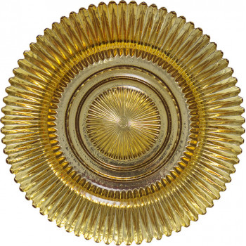 Rainbow Charger Plate (Gold)
