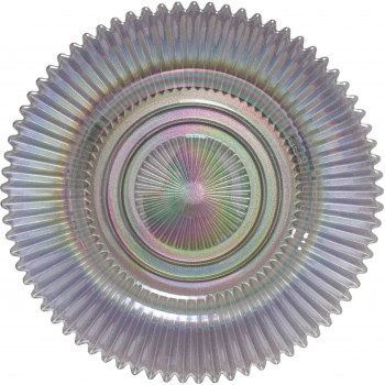 Rainbow Charger Plate (Silver)