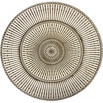 Raindrop Charger Plate