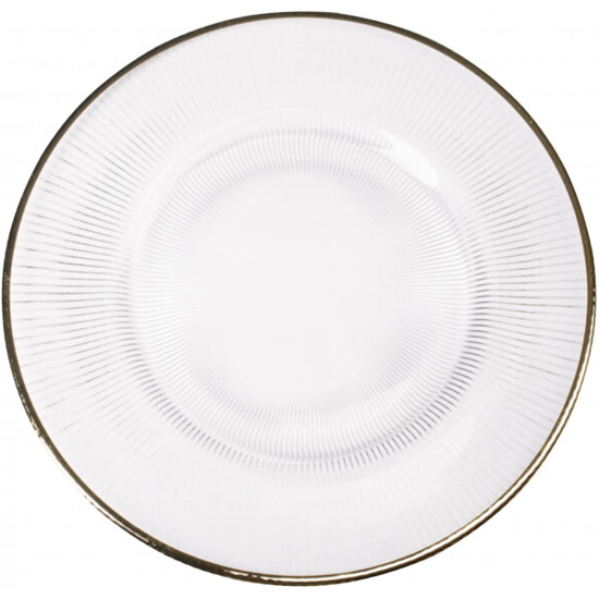 Richland Charger Plate (Gold Trim)