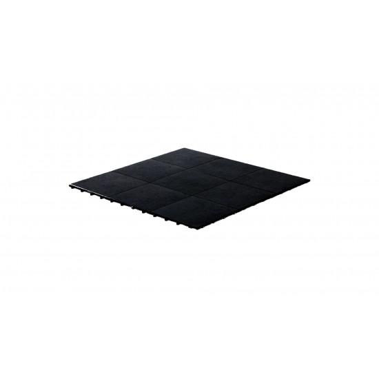 Dance Floor Black 1'x1' (Snap Lock)