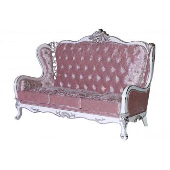 Monarch Sofa (Light Pink)