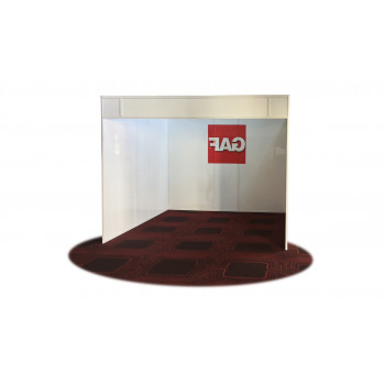 Acrylic Trade Show Booth 10'x10'  (Free standing)