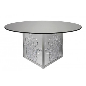 Mirror Dining Table Dior (Round)