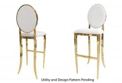 Tiffany Barstool (Gold)