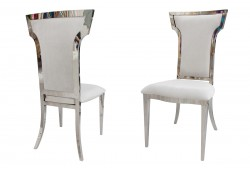Wings Chair (Silver)