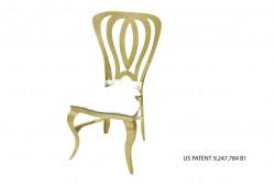 Halexander Chair (Gold)