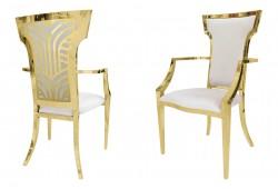 Rockefeller Armchair (Gold)
