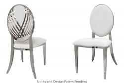 Swan Lake Chair (Silver)