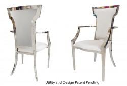 Wings Armchair (Silver)