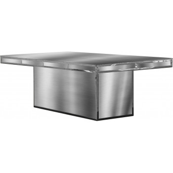 Reflection Dining Table Modern (Silver)