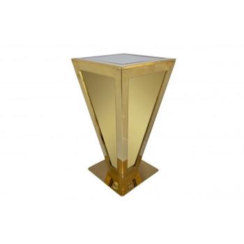 Reflection Highboy Table Pyramid (Gold)