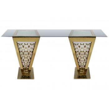 Reflection Highboy Table Pyramid
