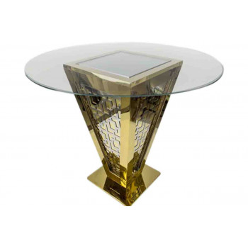 Reflection Highboy Table Pyramid (Cirlce)