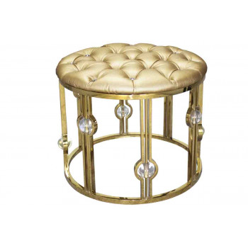 Reflection Ottoman Glam (Round)