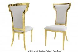 Cornelius Chair (Gold)