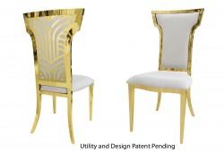 Rockefeller Chair (Gold)