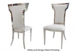 Cornelius Chair (Silver)
