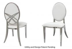 Lasso Chair (Silver)