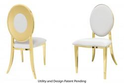 Oz Plus Chair (Gold)