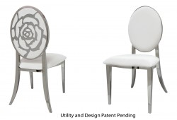 Rose Chair (Silver)