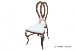 Halexandria Chair (Rose Gold)