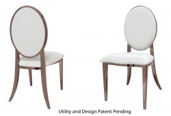 Tiffany Chair (Rose Gold)