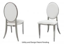 Tiffany Chair (Silver)