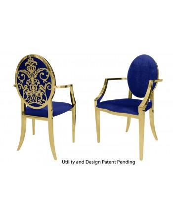 Dior Armchair (Gold-Royal)