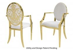Dior Armchair (Gold)