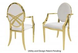Lasso Armchair (Gold)