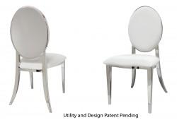 Round Chair (Silver)