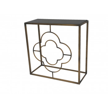 Vintage Tulip Accent Table
