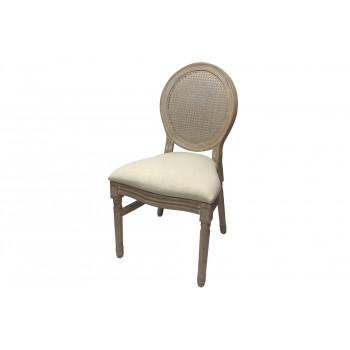 Louis Cane Back Chair