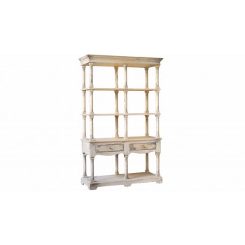 Vintage French Country Bookcase