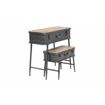 Vintage Trunk Accent Tables