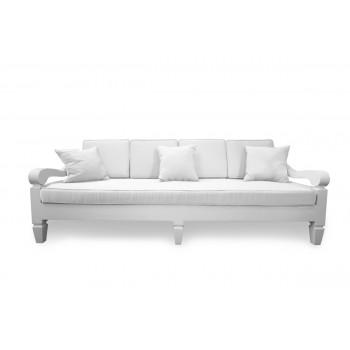 Maze Sofa 8' (White)