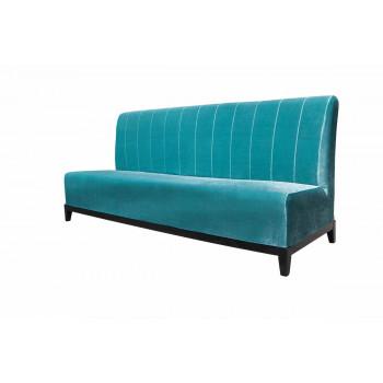 Velvet Sofa 7' with Lines (Tiffany)