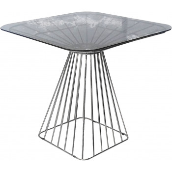 Wire Low top Table (Silver)