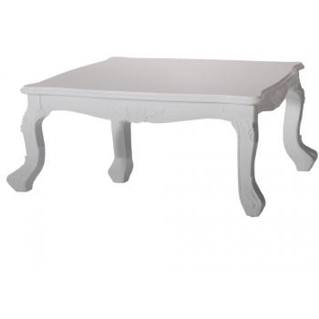 "Baroque Table 48""x48"" (King) (Silver)"