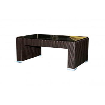 Rattan Coffee Table (U-Shape) (Mocha)