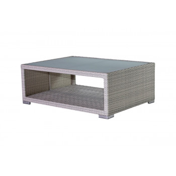 Rattan Coffee Table (With Hole) (Sand)