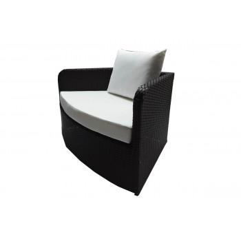 Rattan Serpentine Seat (Mocha)